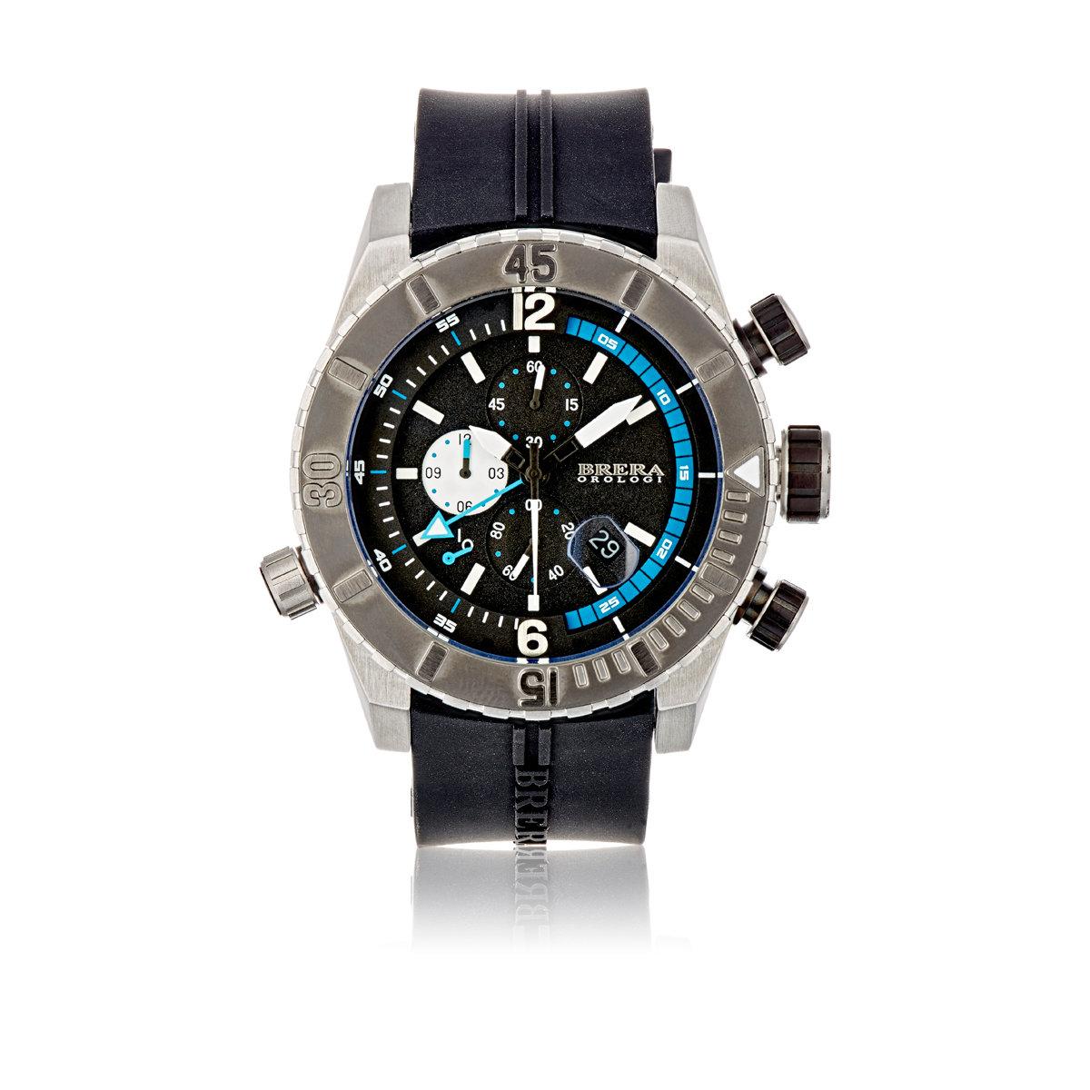 Lyst brera orologi men 39 s sottomarino diver watch in for Sottomarino italia