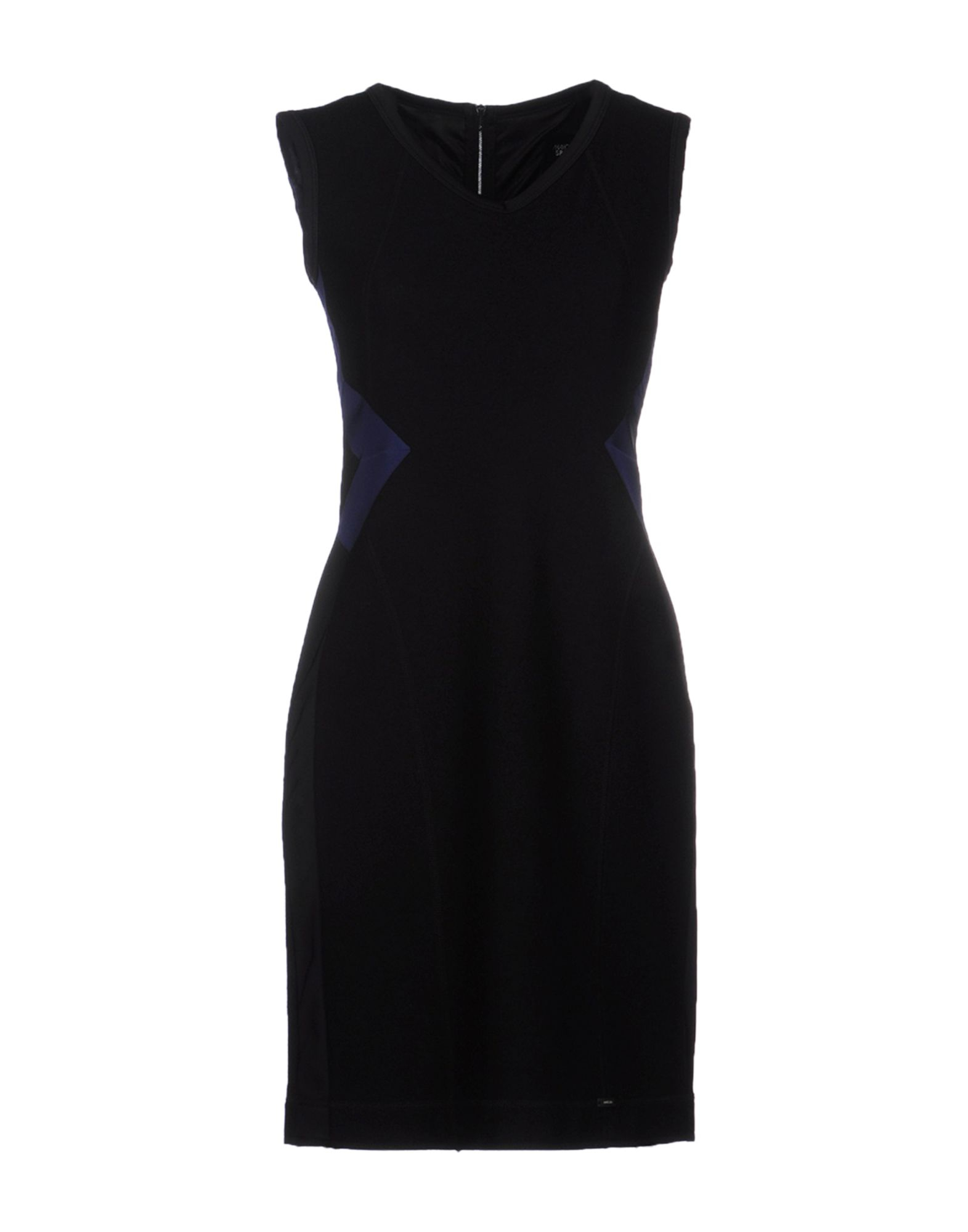 Marc Cain Short Dress In Black Save 60 Lyst