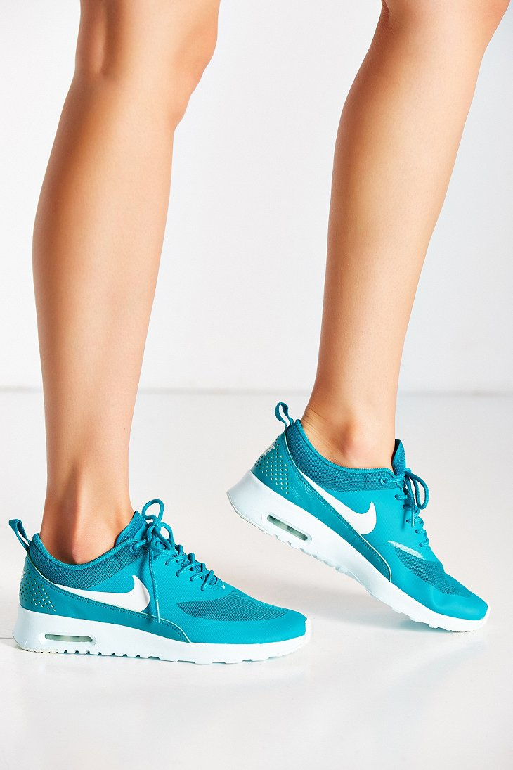 be8a0aa361 ... netherlands lyst nike womens air max thea running sneaker in blue 72287  4c7a3