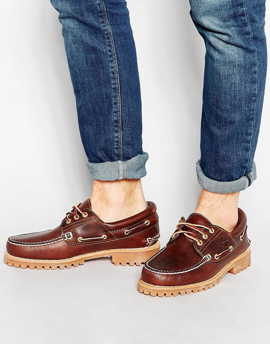8d16e515c226 Timberland Classic Lug Boat Shoes in Brown for Men - Lyst