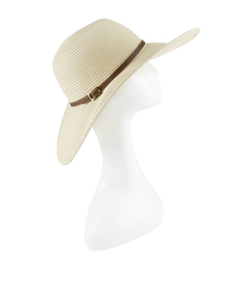 Melissa Odabash Jemima Wide Brim Hat in Natural - Lyst 222eabaccb38