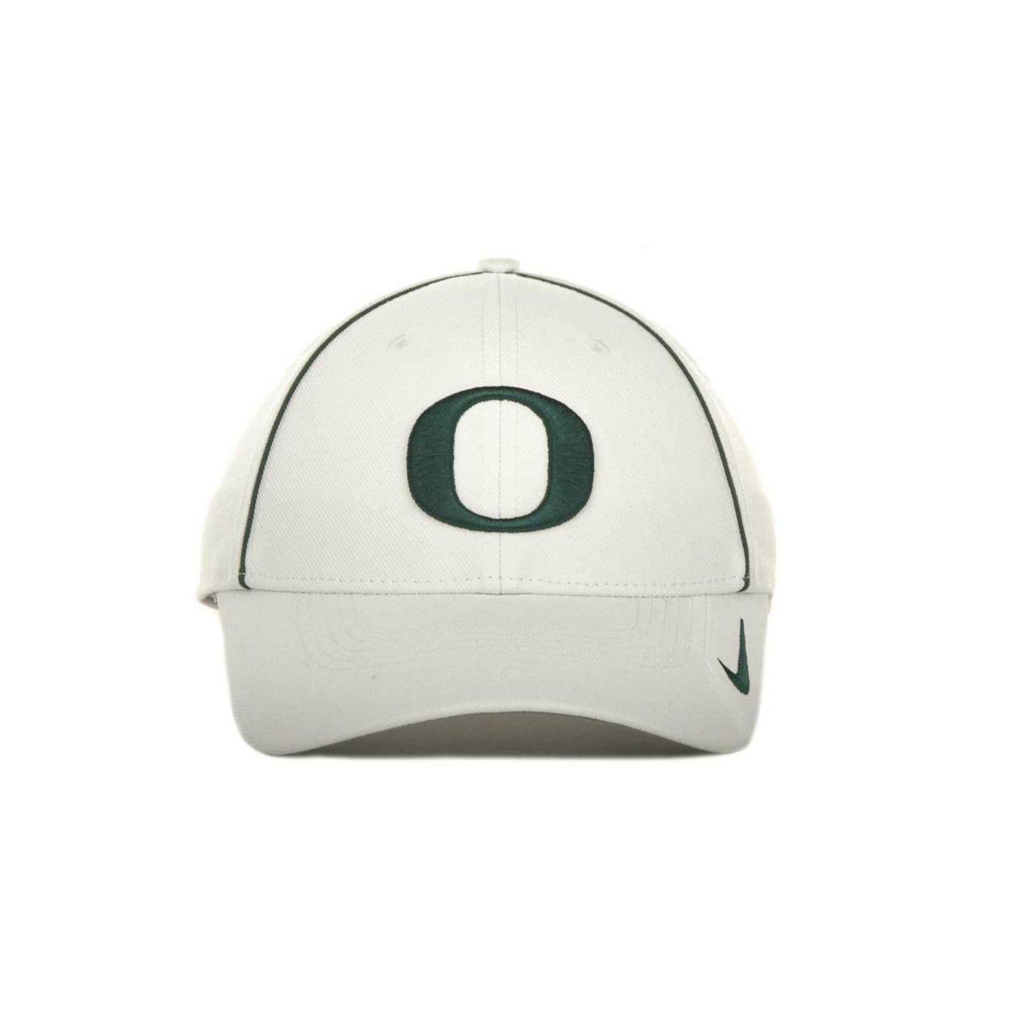 b4c23738b61 Lyst - Nike Oregon Ducks Sideline Legacy 91 Cap in White for Men