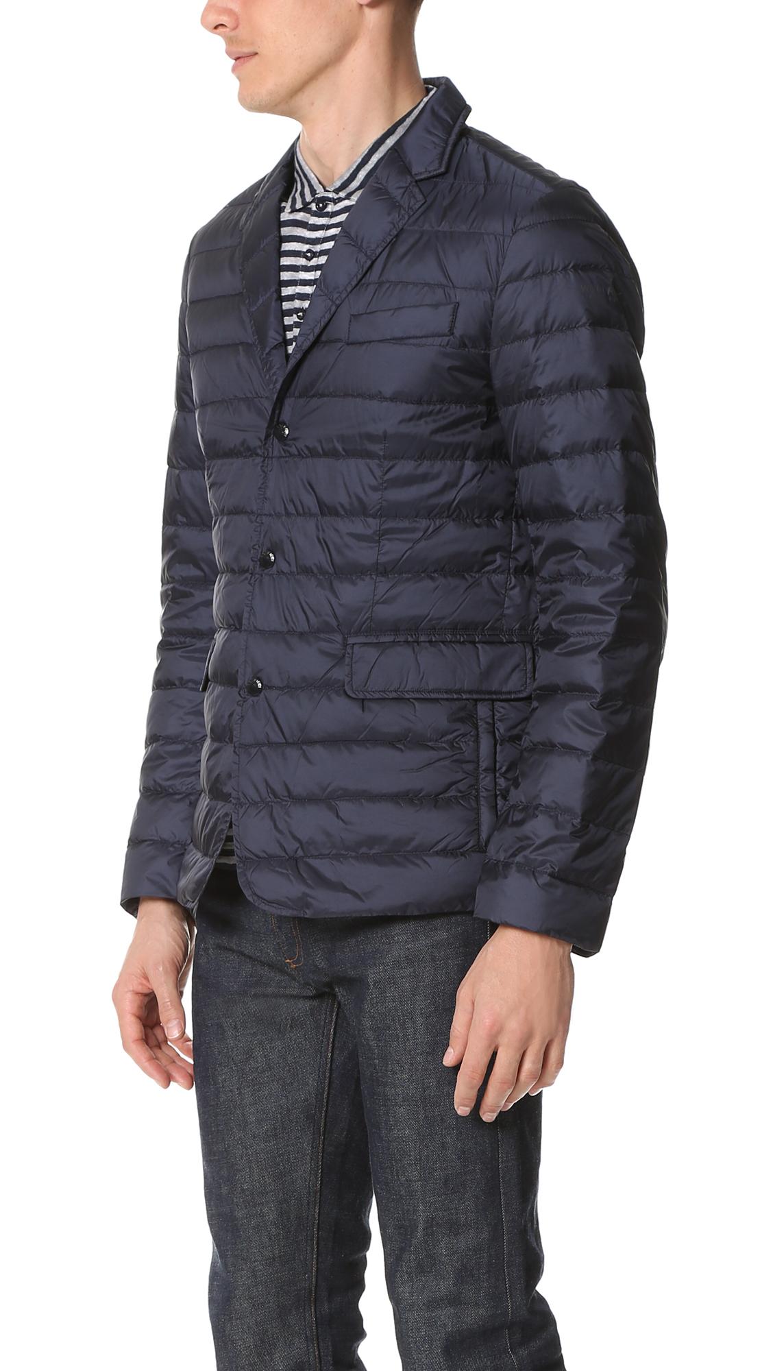 woolrich sundance unlined blazer in blue for lyst