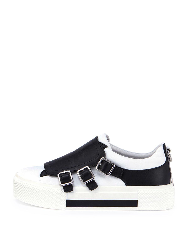 tri-strap sneakers - Black Alexander McQueen sVAn77dPGo