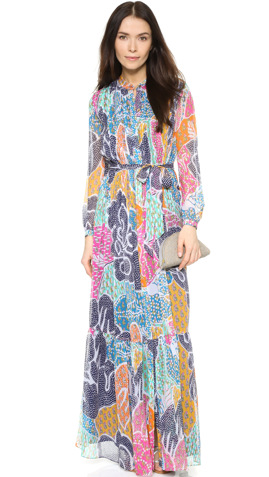 Lyst diane von furstenberg cambrie dress for Diane von furstenberg clothes