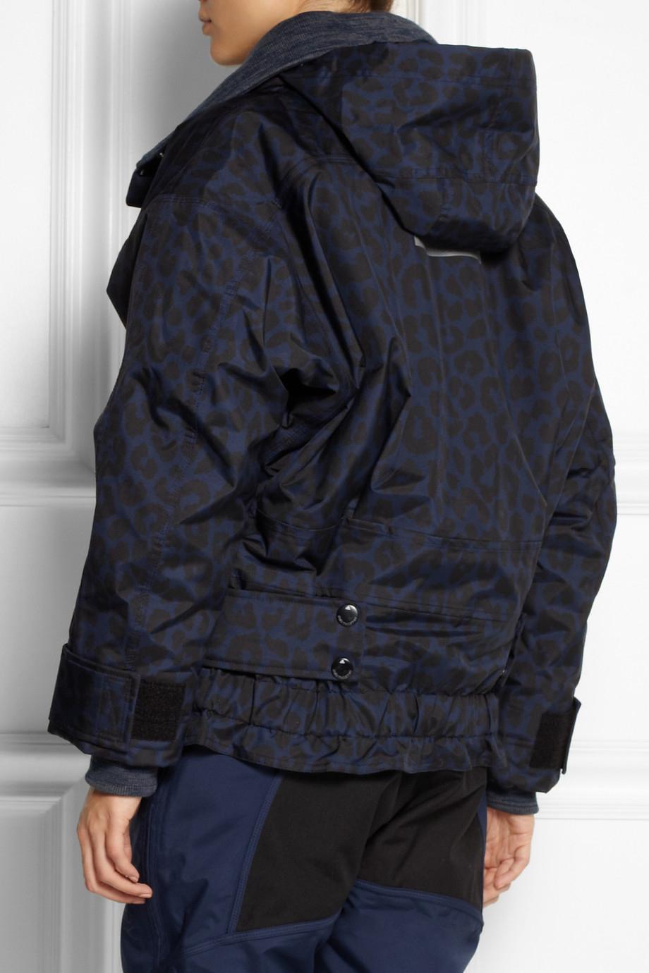 bd512eba99 adidas By Stella McCartney Ws Leopard-Print Climaproof® Storm Ski ...