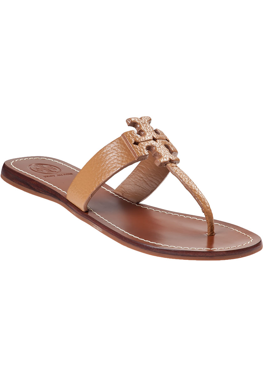 651890944b5c Lyst - Tory Burch Moore Thong Sandal Royal Tan Leather in Brown