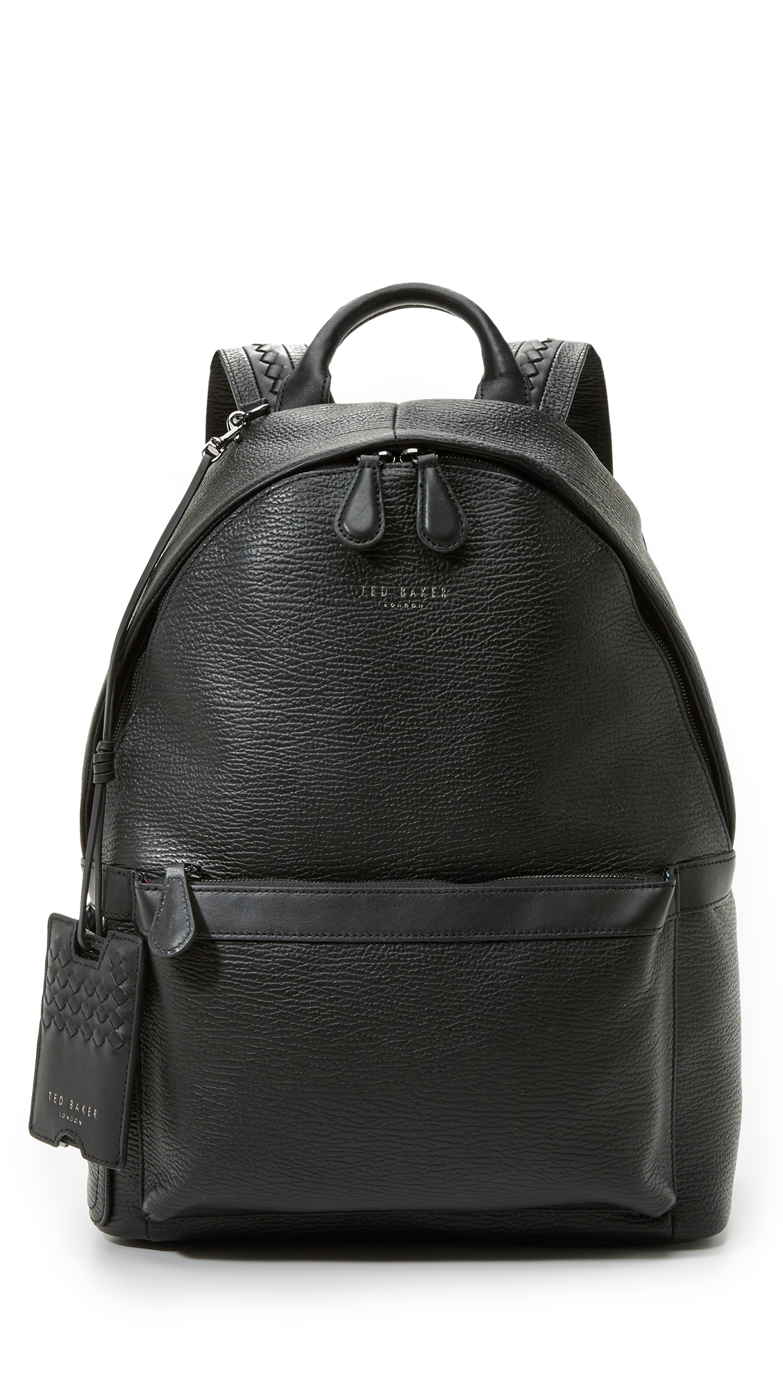 99eee29e0 Ted Baker Heyriko Leather Backpack in Black for Men - Lyst