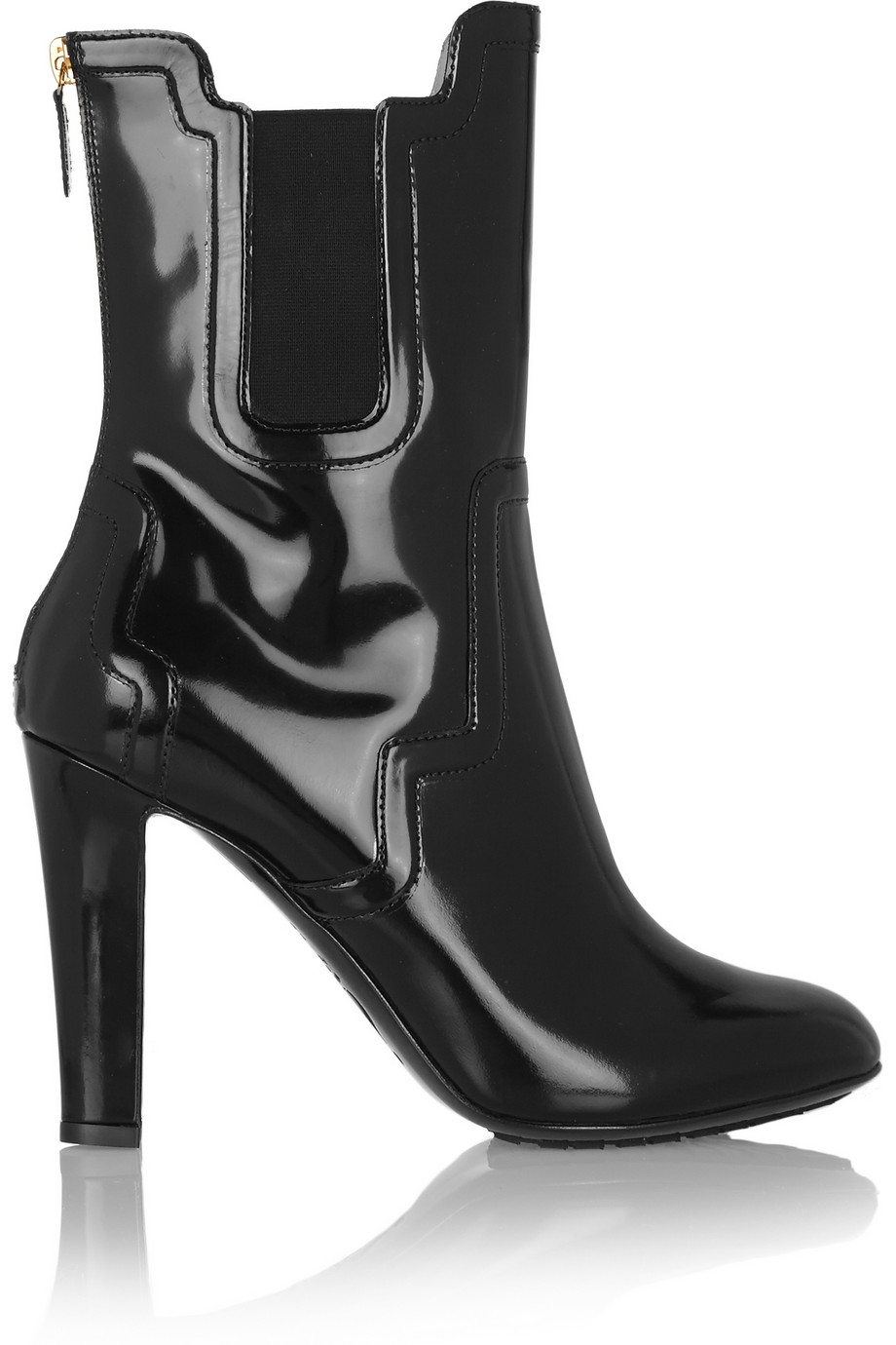 Moschino Patent Leather Boots Outlet Store Cheap Price Get Authentic Sale Sast 2KyllkE29