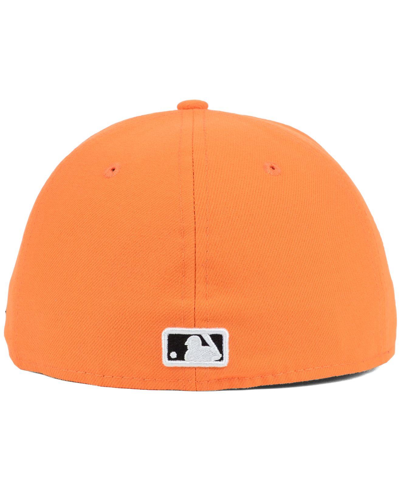 size 40 afbb3 48038 Lyst - KTZ New York Yankees C-Dub 59Fifty Cap in Orange
