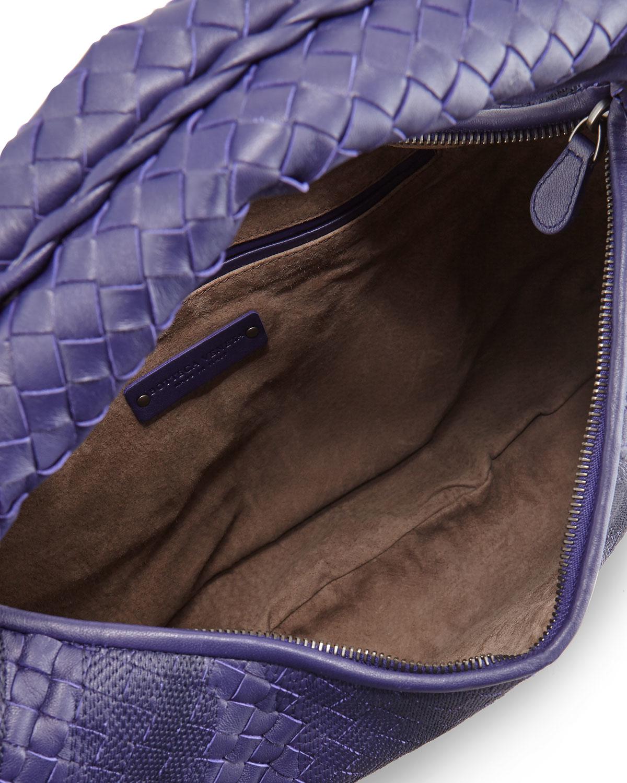 Bottega veneta Veneta Intrecciato Maxi Hobo Bag in Blue (ROYAL . 70f86b7aa5e0f