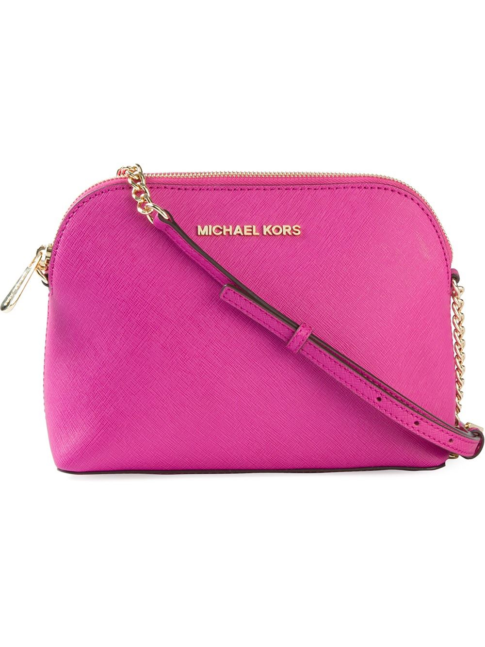 Lyst Michael Michael Kors Large Cindy Crossbody Bag In