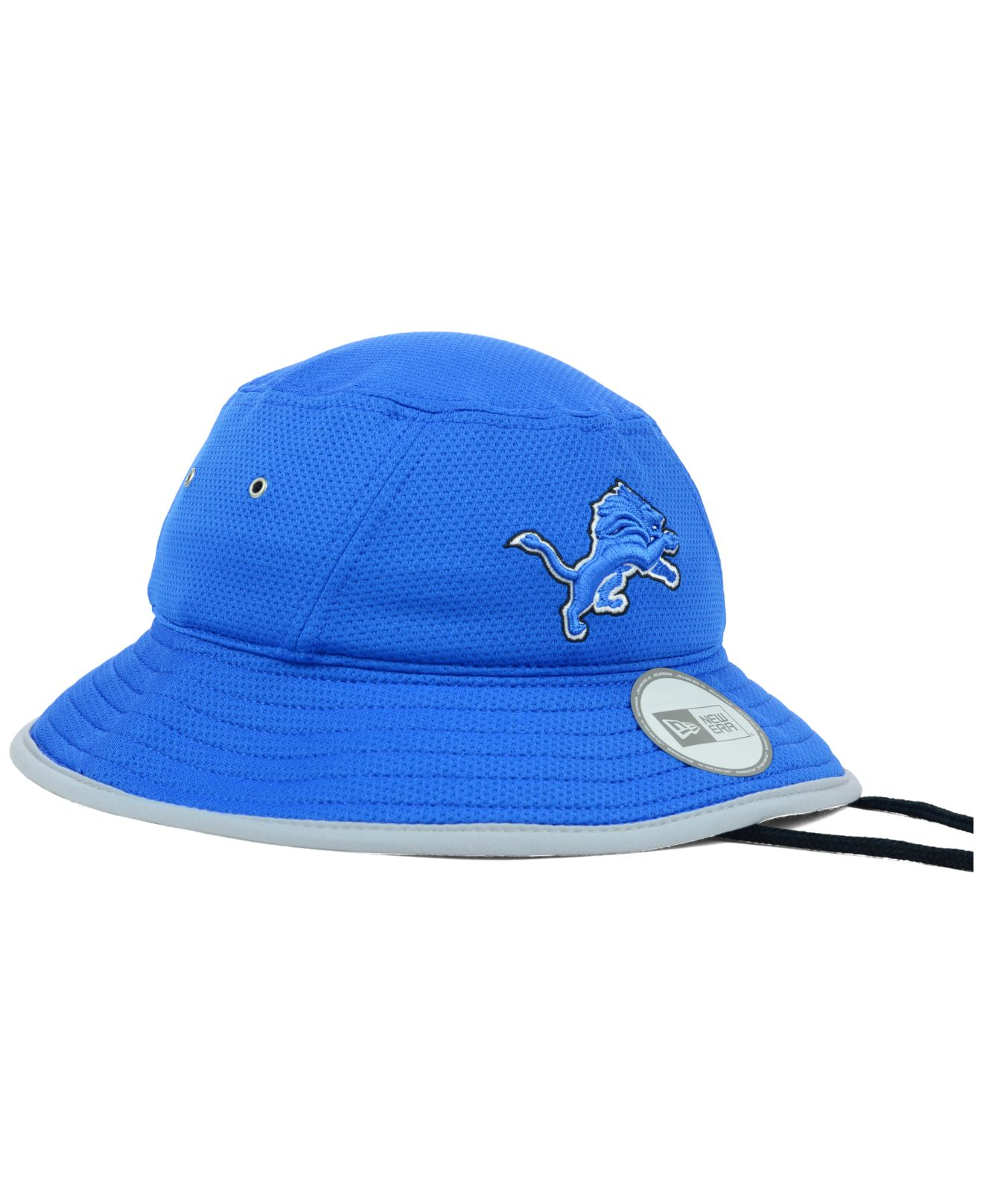 Lyst - KTZ Detroit Lions Tc Training Bucket Hat in Blue for Men 88e68347e