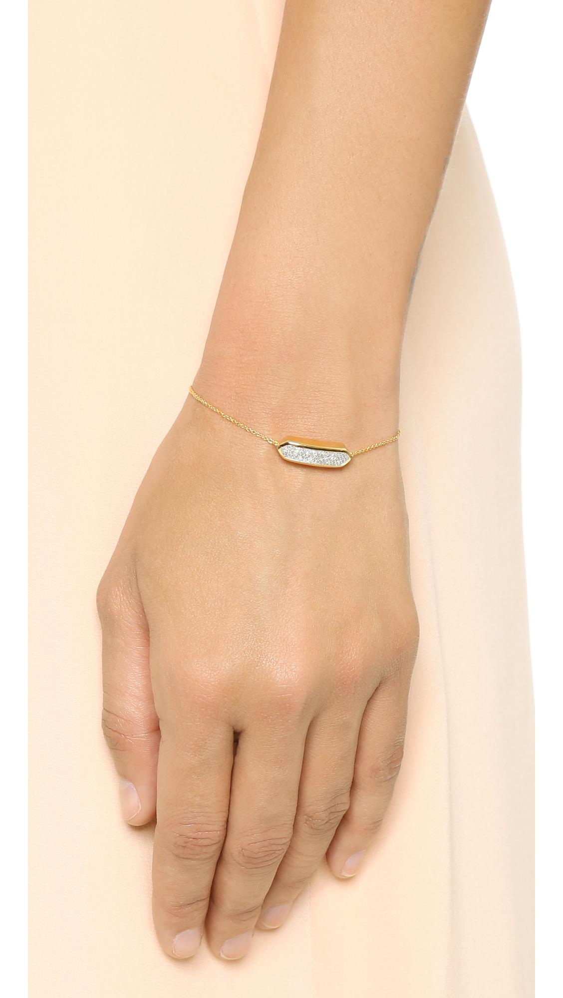 Rose Bracelet En Or Diamant Baja Déco Diamant Monica Vinader dOVve3eS