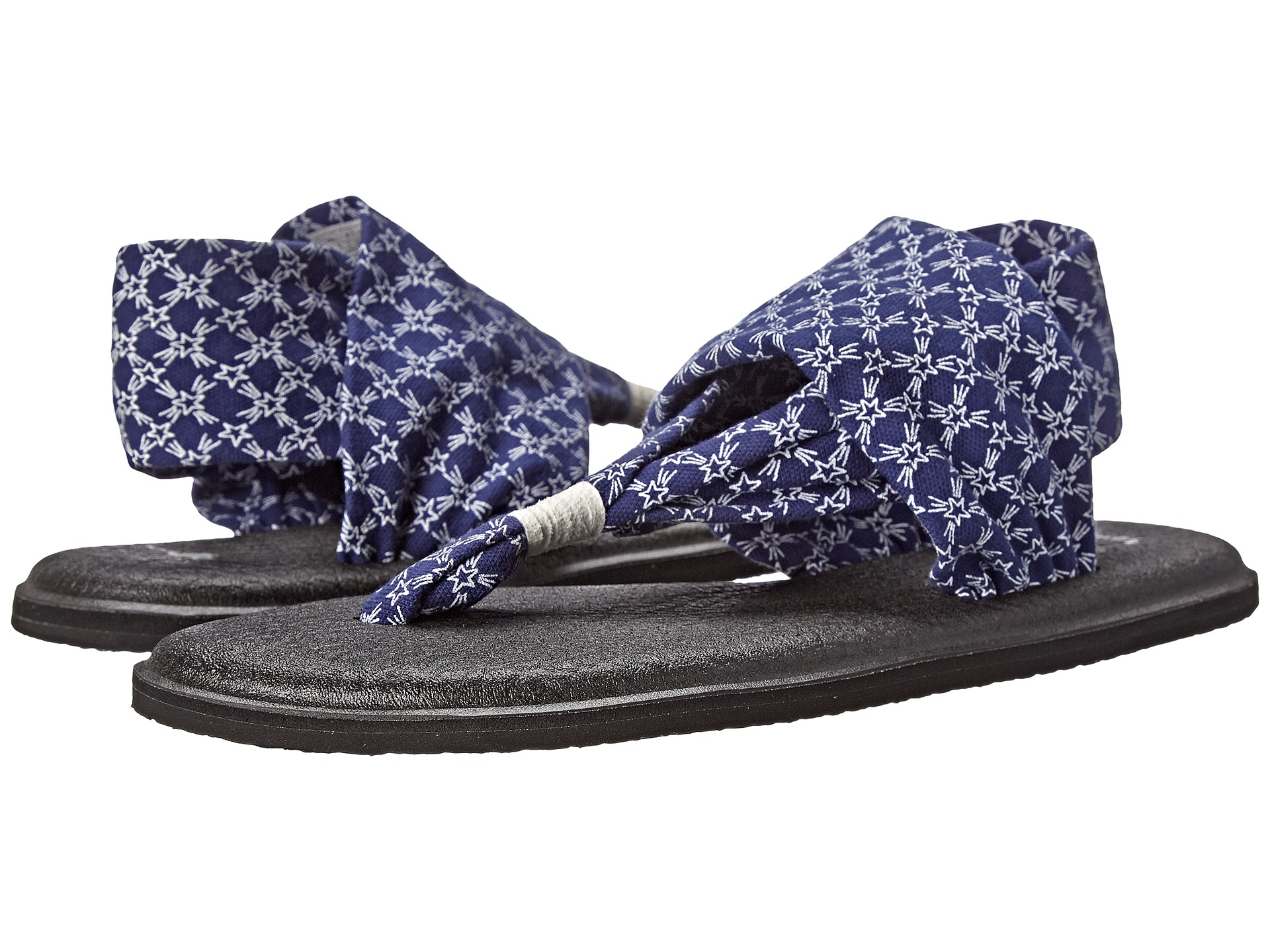cc885fedbda1 Lyst - Sanuk Yoga Sling Patriot in Blue