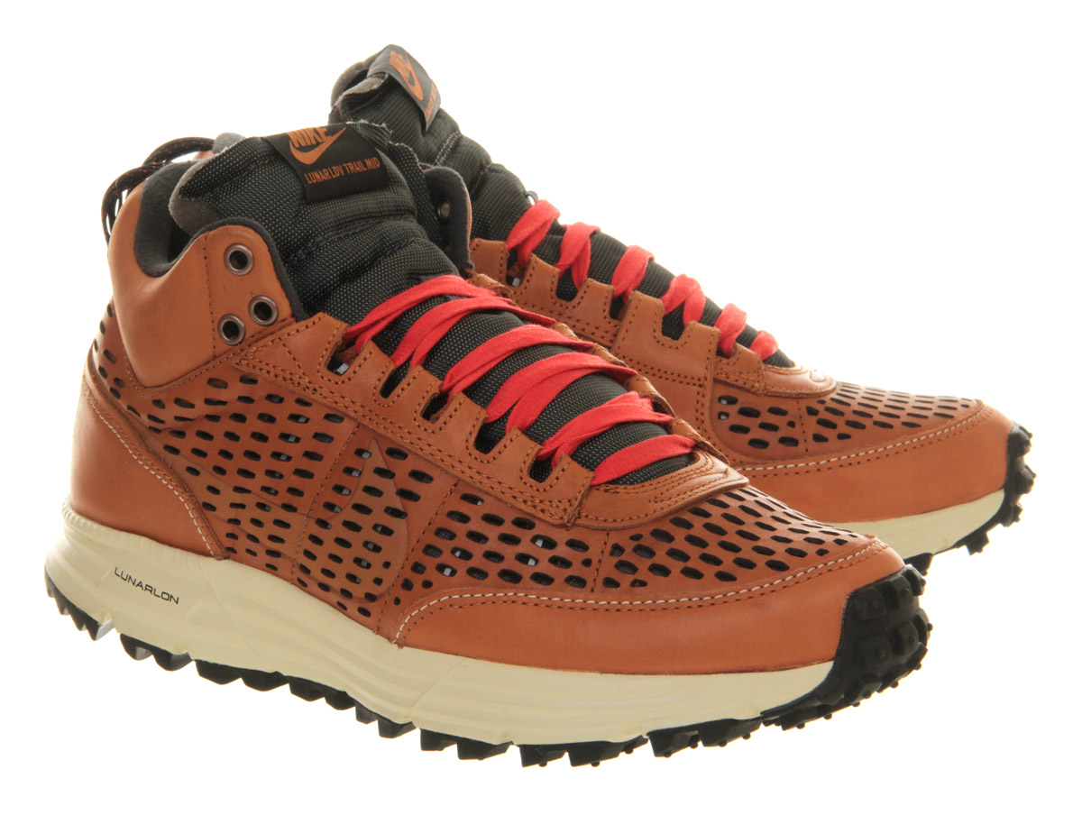 nike lunar ldv sneaker boot in brown for lyst