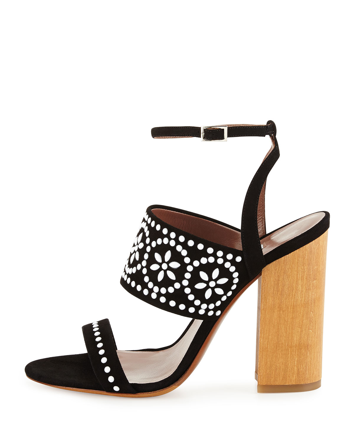 Tabitha Simmons Suede Cage Sandals view for sale 5sz8Q