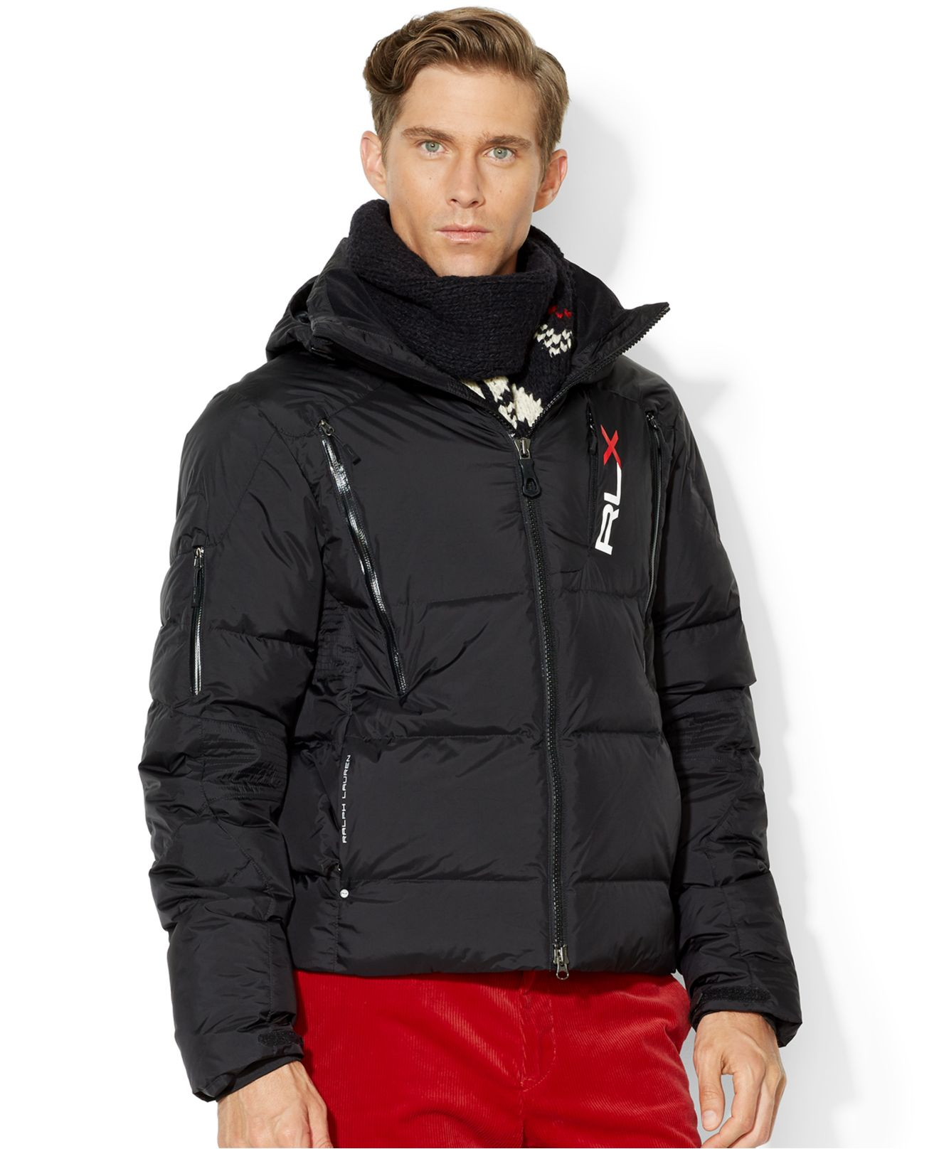 b5a8aec4e57e Lyst - Polo Ralph Lauren Rlx Quilted Down Jacket in Black for Men