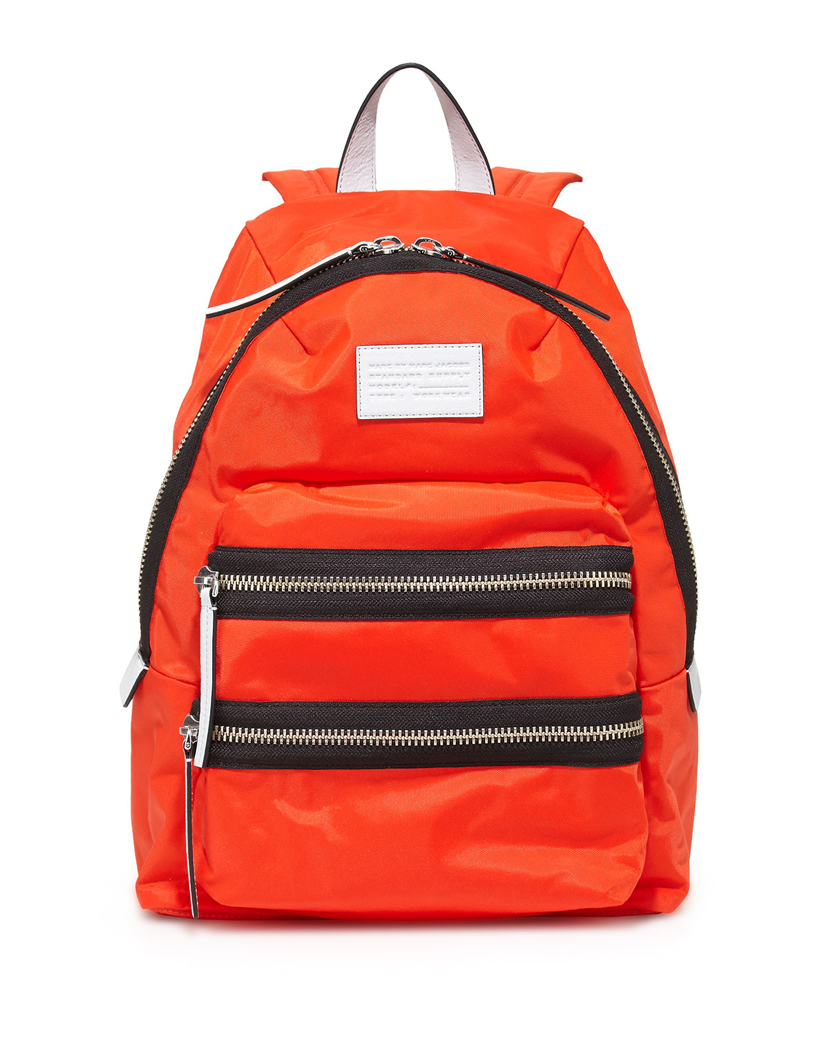marc by marc jacobs domo arigato packrat backpack in orange bright tangelo lyst. Black Bedroom Furniture Sets. Home Design Ideas