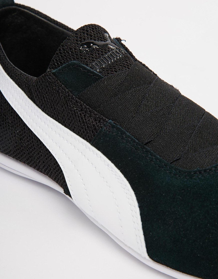 Puma Eskiva Low textured wns black