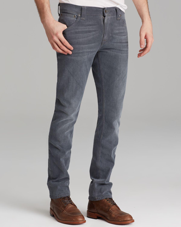 nudie jeans thin finn organic slim fit in lighter shade. Black Bedroom Furniture Sets. Home Design Ideas