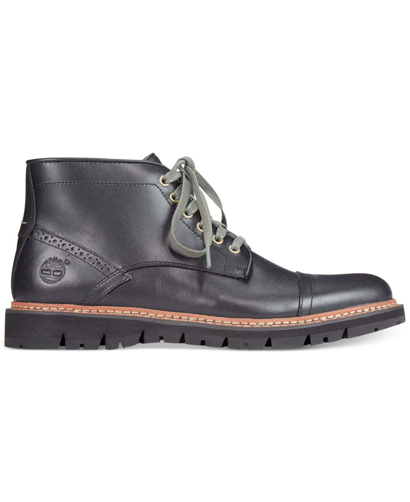 20d86431f806 Lyst - Timberland Earthkeepers Britton Hill Chukka Boots in Black ...