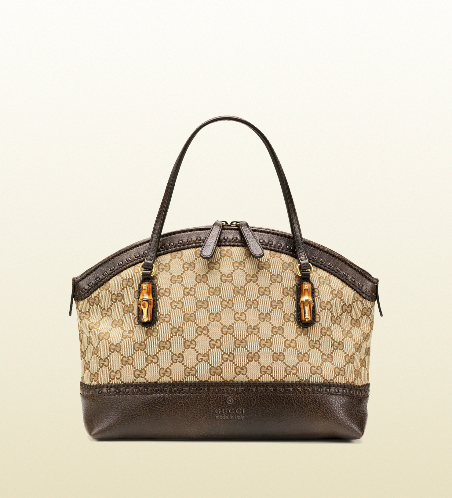 abcc96e2a3f8 Lyst - Gucci Laidback Crafty Original Gg Canvas Top Handle Bag in Brown for  Men