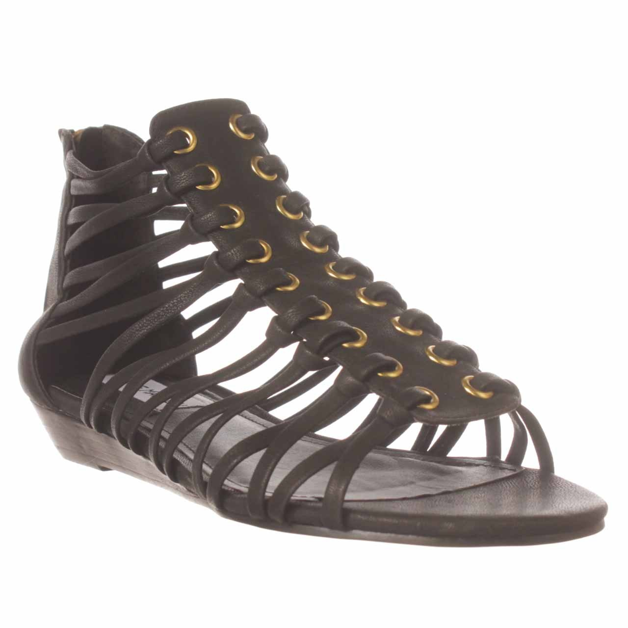 Lyst Steve Madden Kaige Gladiator Sandal In Black