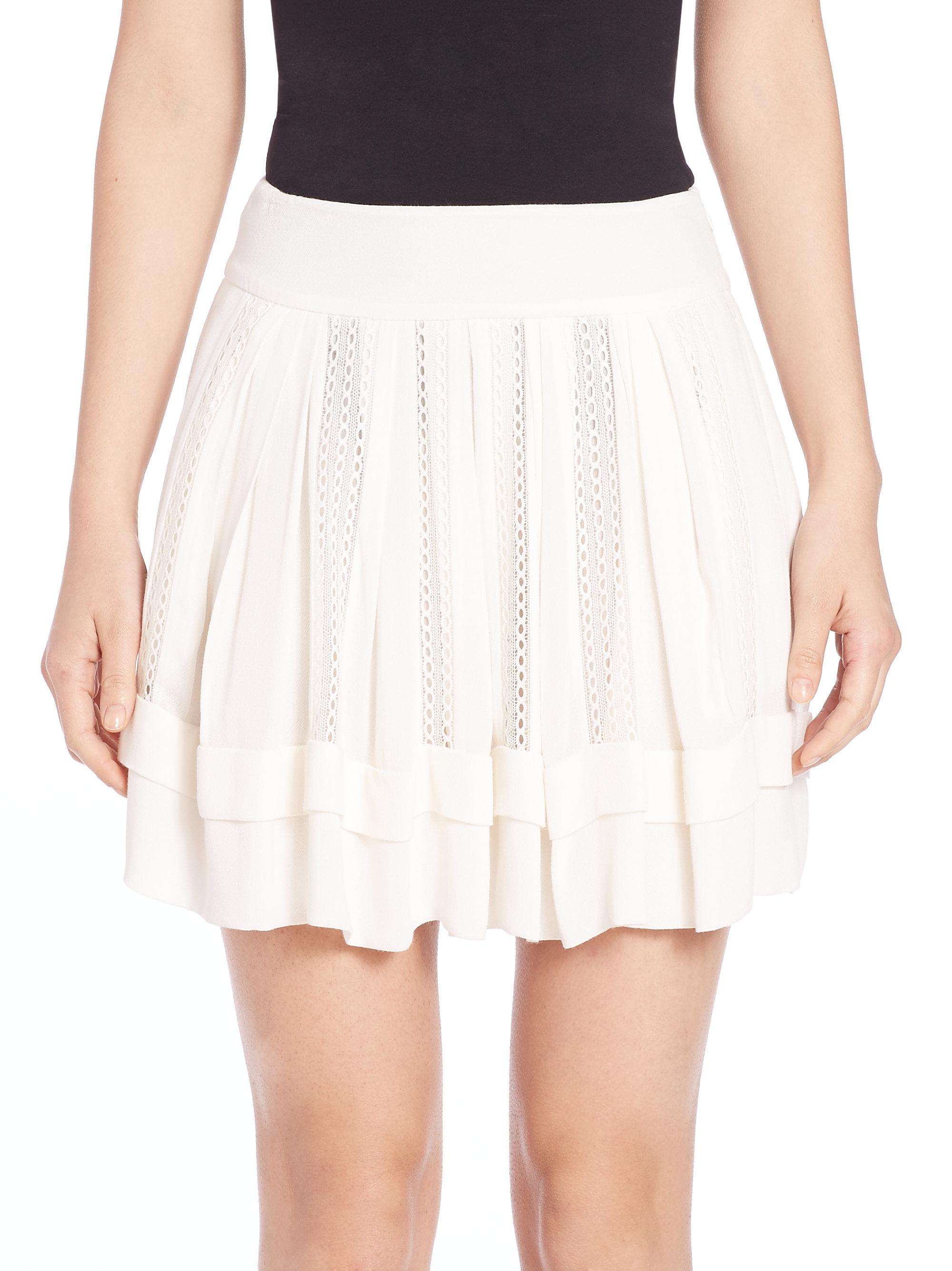0276dfc56 IRO Ginny Skirt in White - Lyst