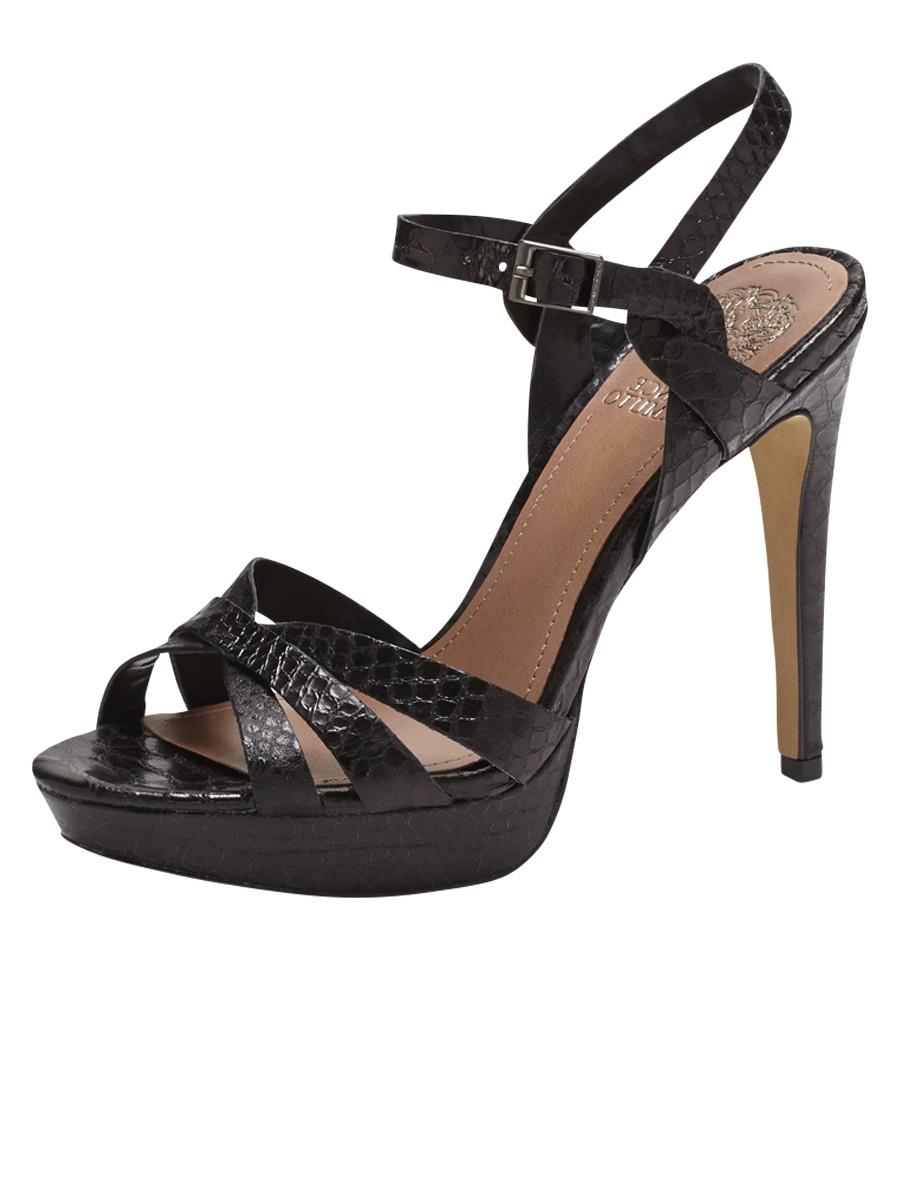Vince Camuto Jessamae Sandal In Black Lyst