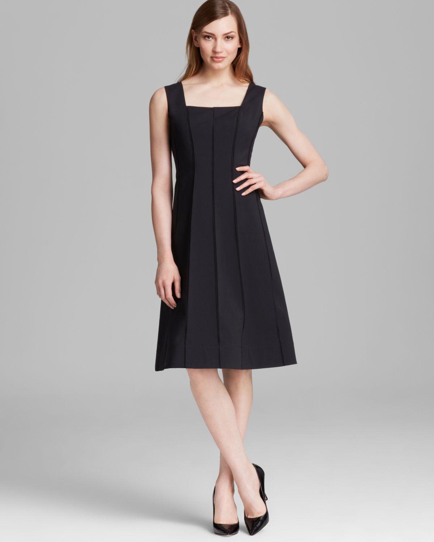 Lyst - Lafayette 148 New York Adelaide Dress in Black