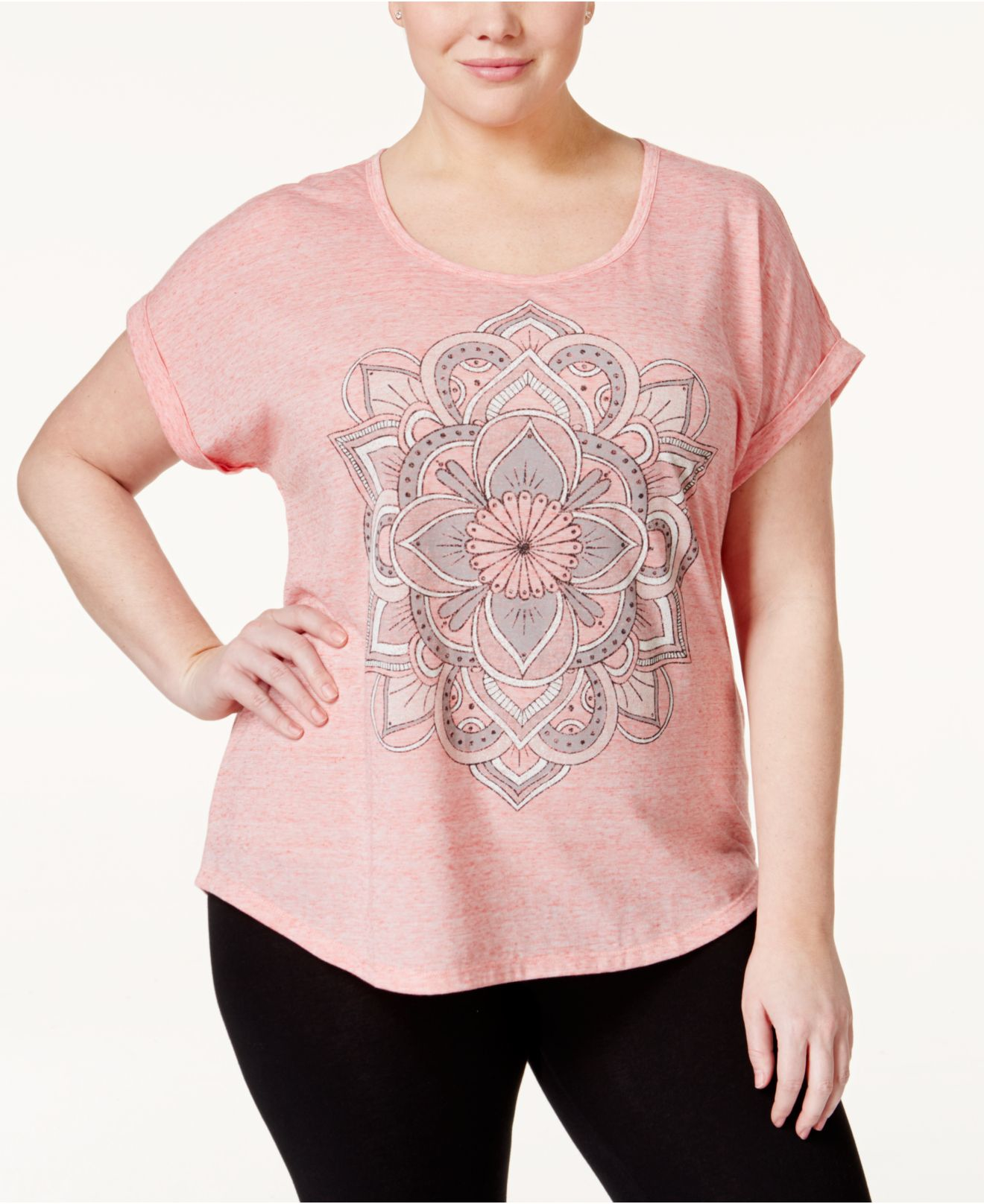 style co plus size graphic t shirt only at macy s in