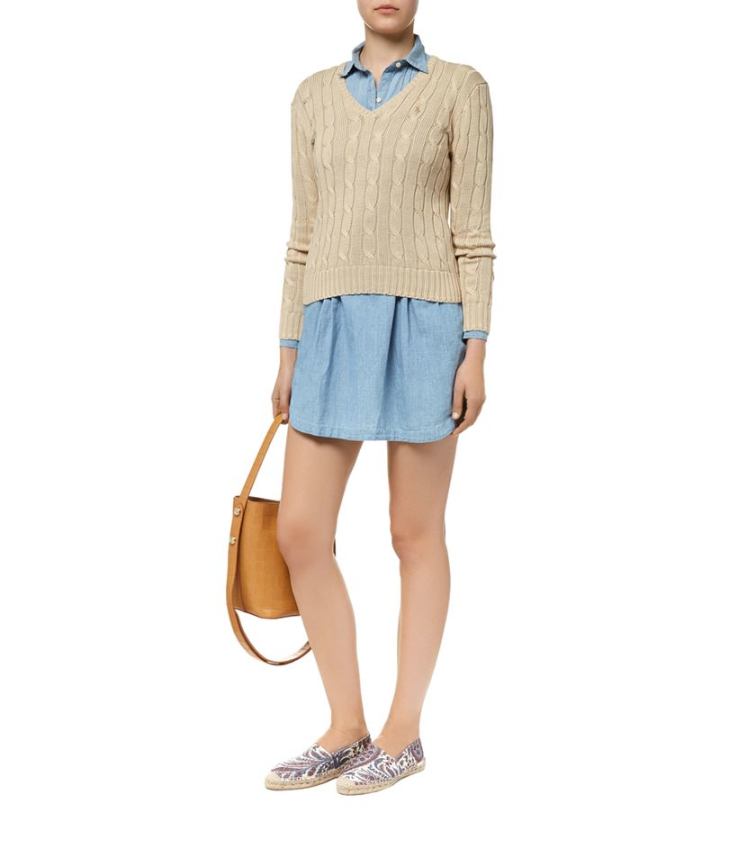 f2697371dc6 Gallery. Previously sold at  Harrods · Women s Cable Knit Jumpers ...