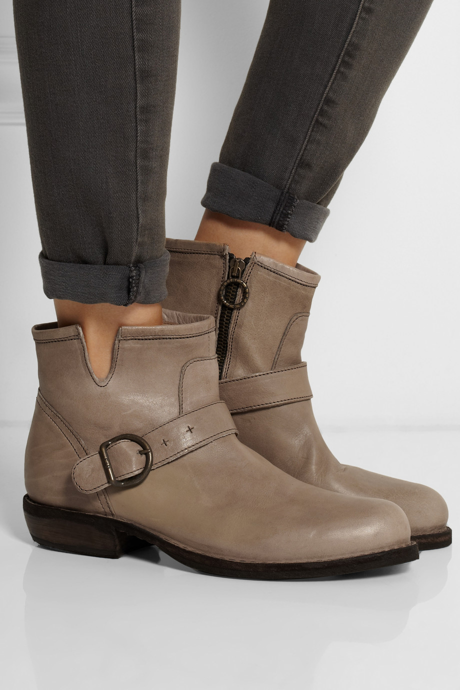 Lyst Fiorentini Baker Chad Carnaby Leather Ankle Boots