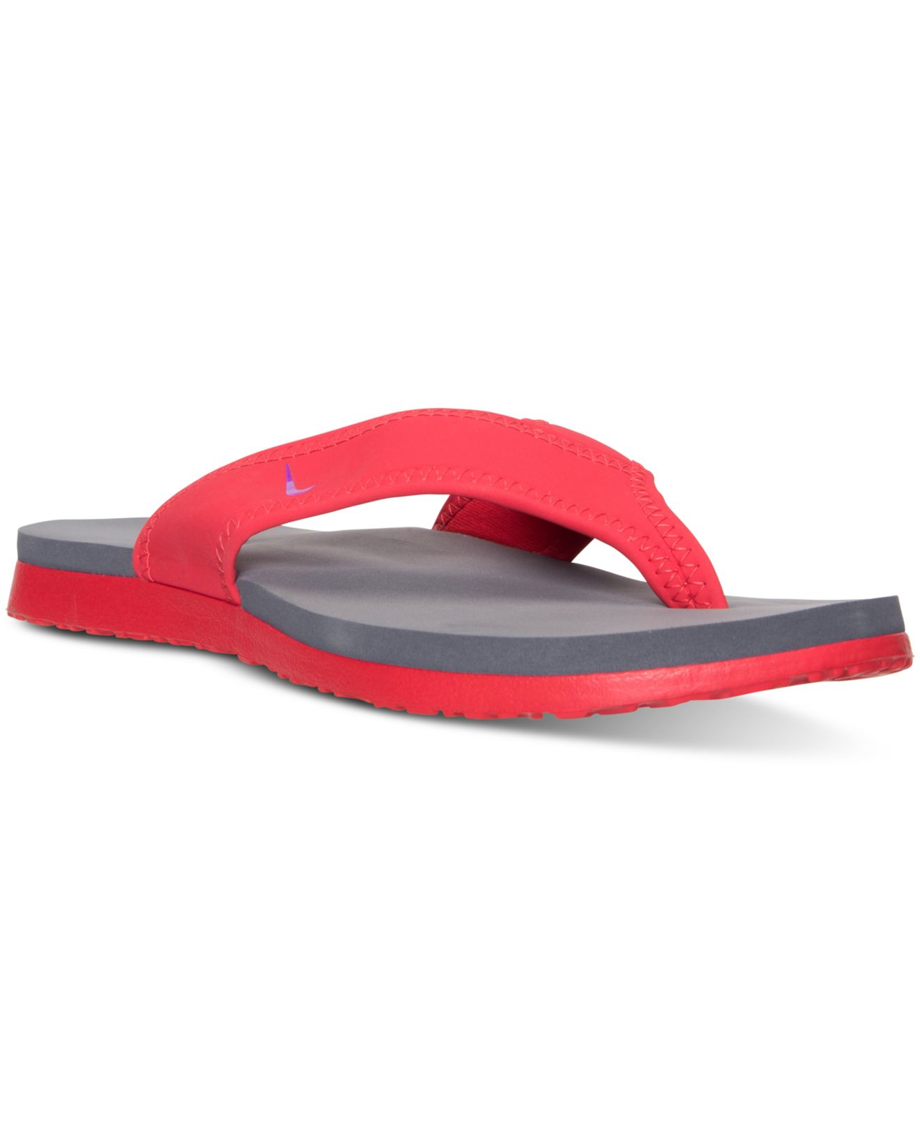 Lyst - Nike Men s Celso Plus Thong Sandals From Finish Line in Red for Men a46169f9f