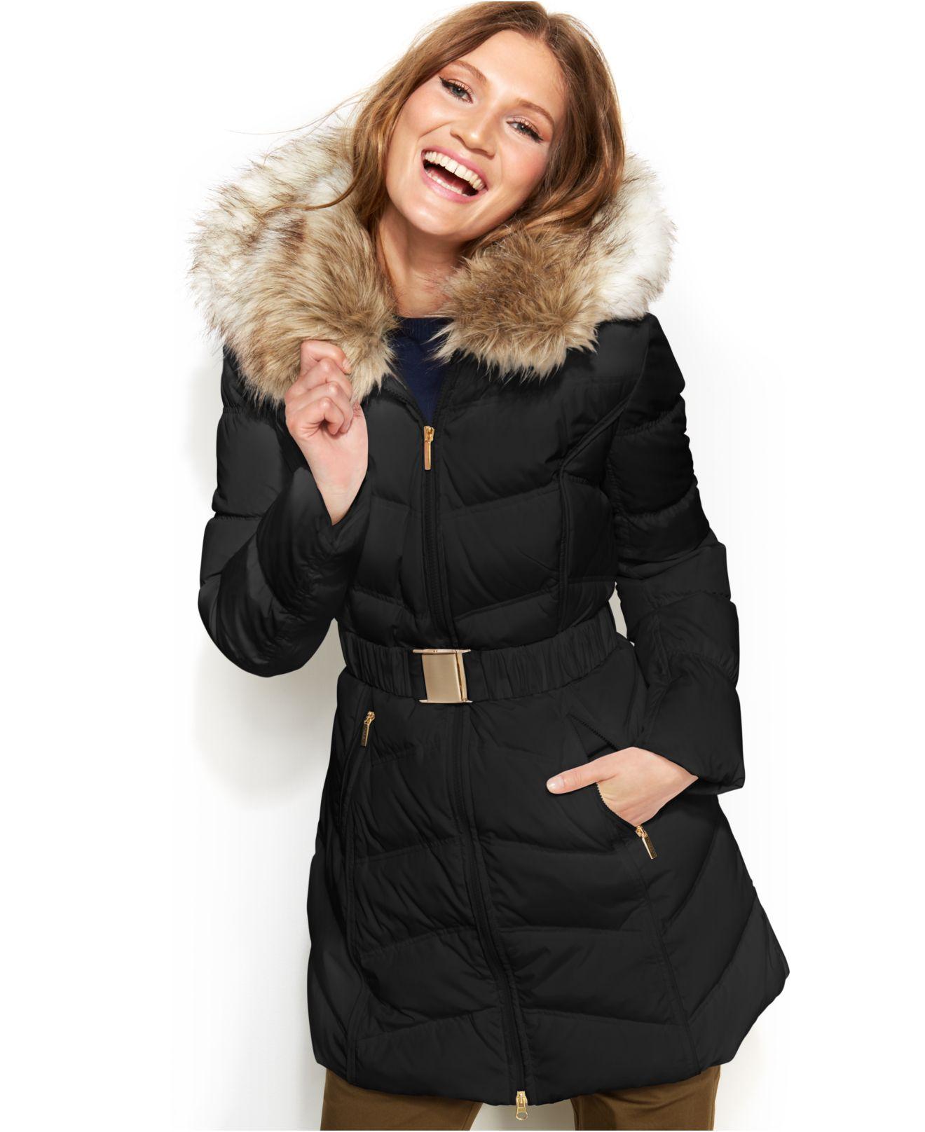 caa0f99c1da6 Tianna Black Faux Fur Hooded Coat. Must Have Hooded Winter Coats  Nationtrendz Com