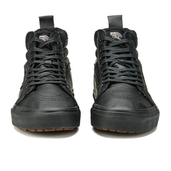 Vans High Tops Black Leather