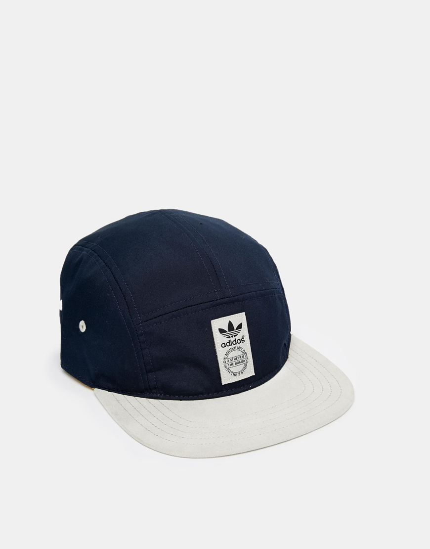 2a62fa3a30d Lyst - adidas 5 Panel Snapback Cap in Blue for Men
