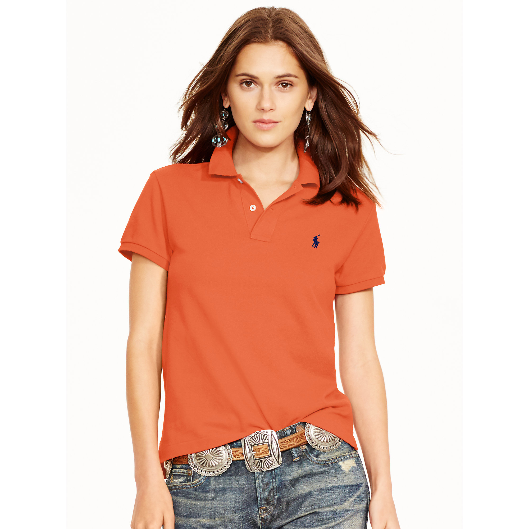 1acf0defd6 Lyst - Polo Ralph Lauren Classic-fit Polo Shirt in Red