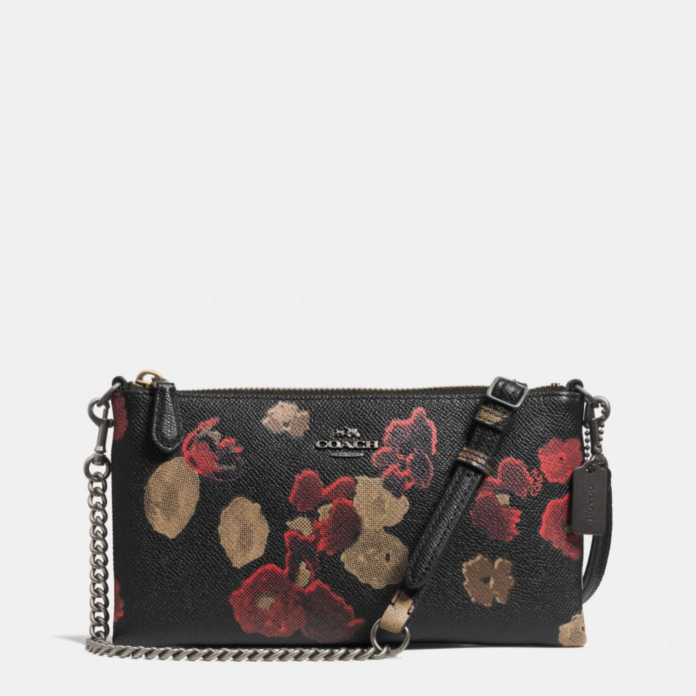 Coach Kylie Crossbody In Floral Print Leather | Lyst
