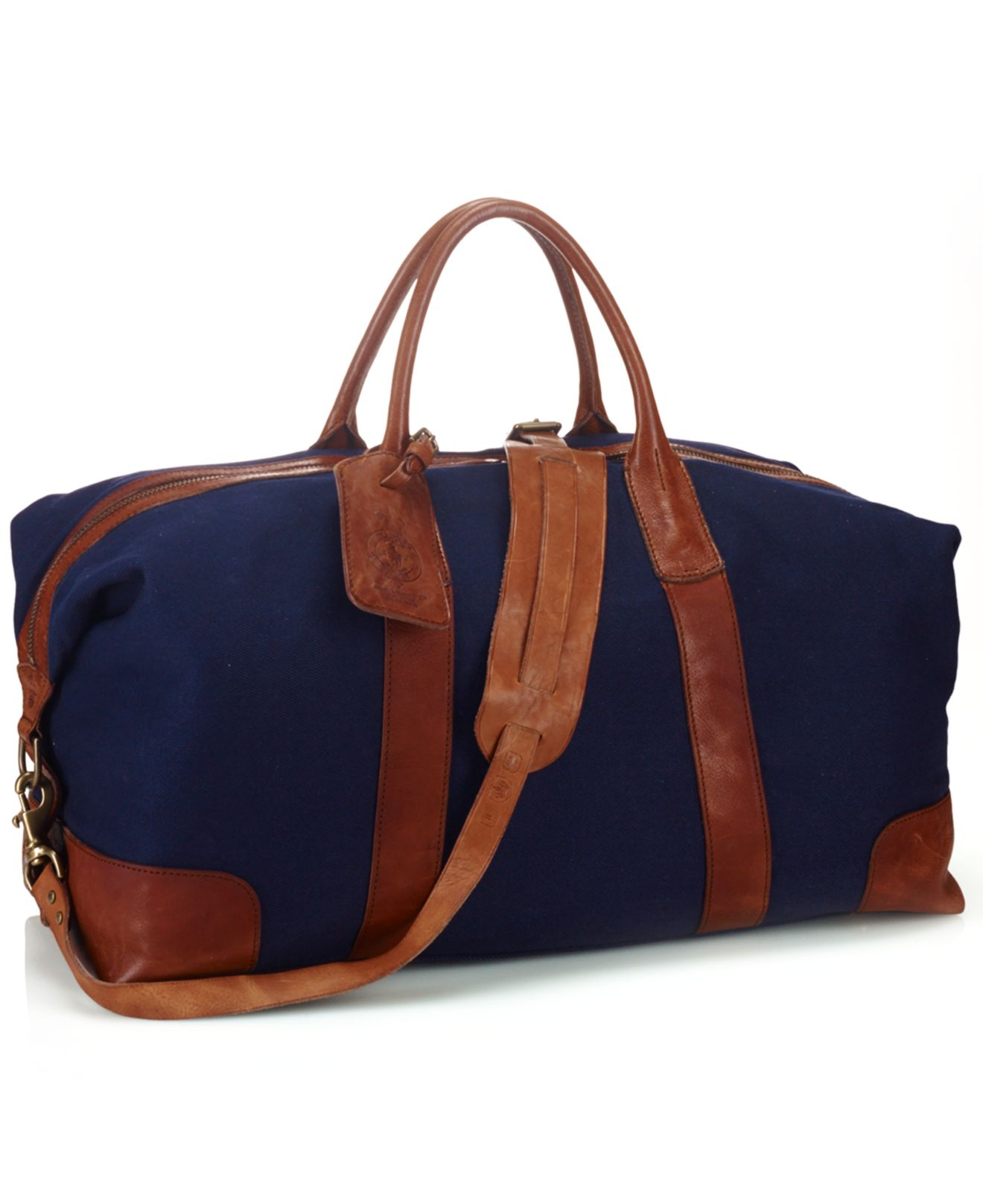 a83a2bae44 Lyst - Polo Ralph Lauren Canvas Duffel Bag in Blue for Men