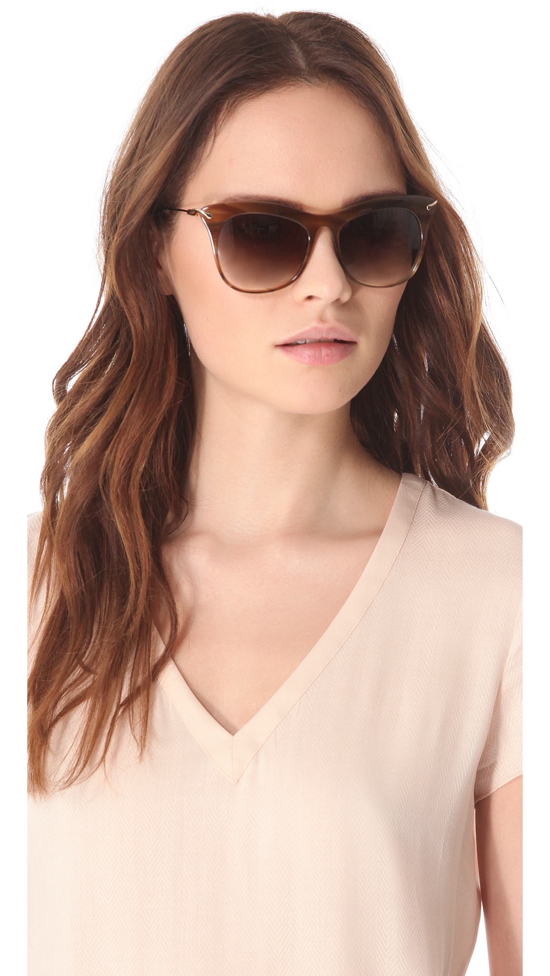 d311a09272 Elizabeth and James Fairfax Sunglasses in Brown - Lyst
