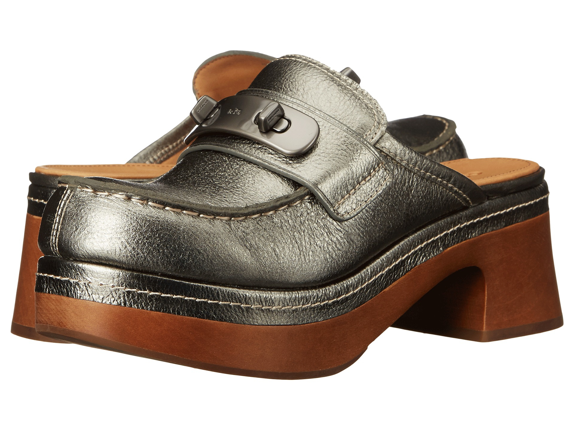 Womens Shoes COACH Adrienne Gunmetal