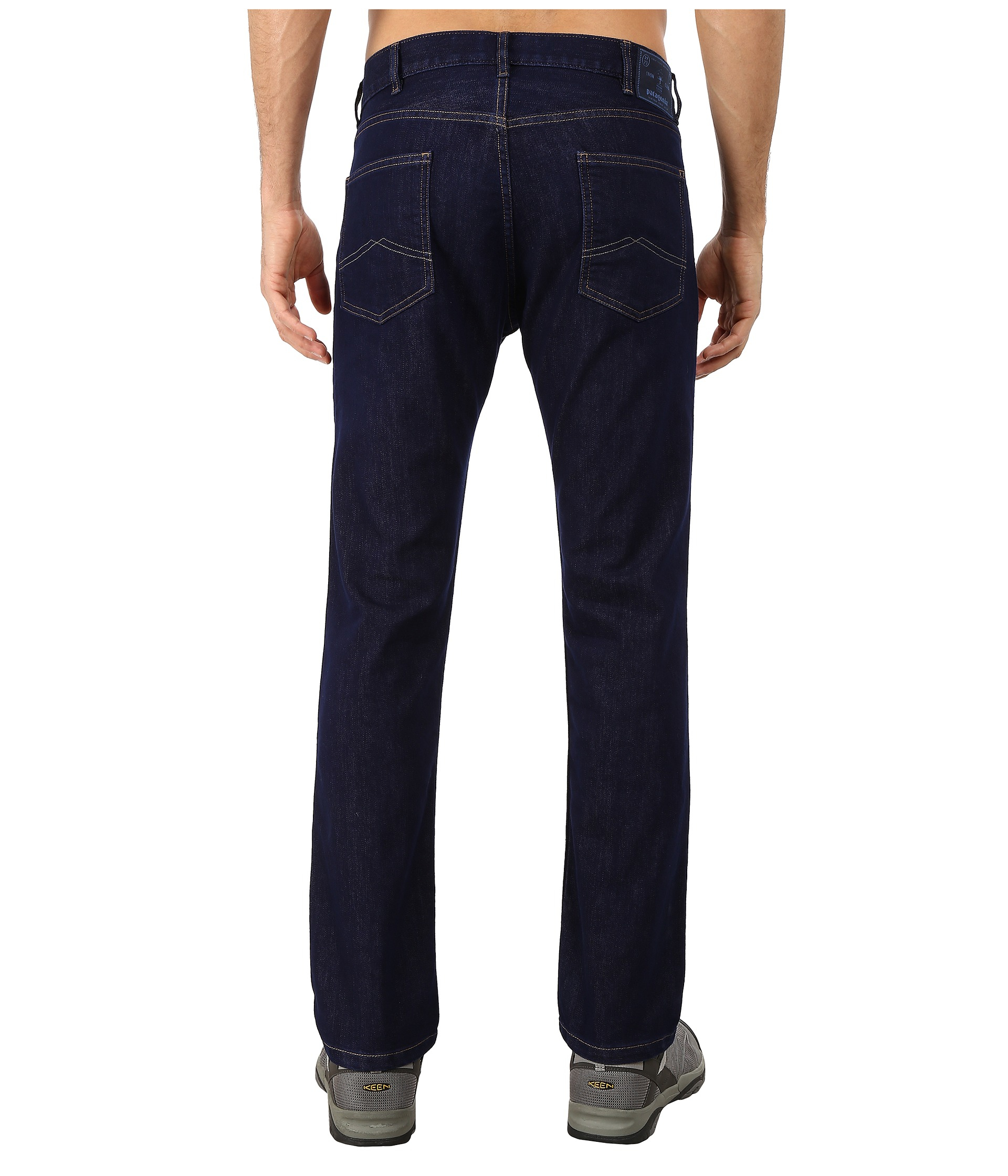 71bbc3816e61 Patagonia Performance Straight Fit Jeans - Short in Blue for Men - Lyst