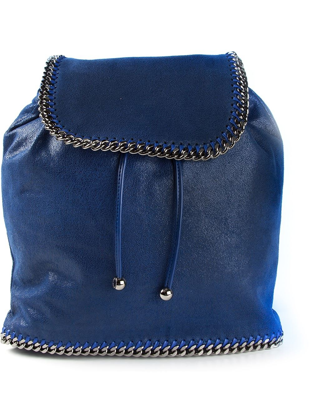 stella mccartney falabella backpack in blue lyst. Black Bedroom Furniture Sets. Home Design Ideas