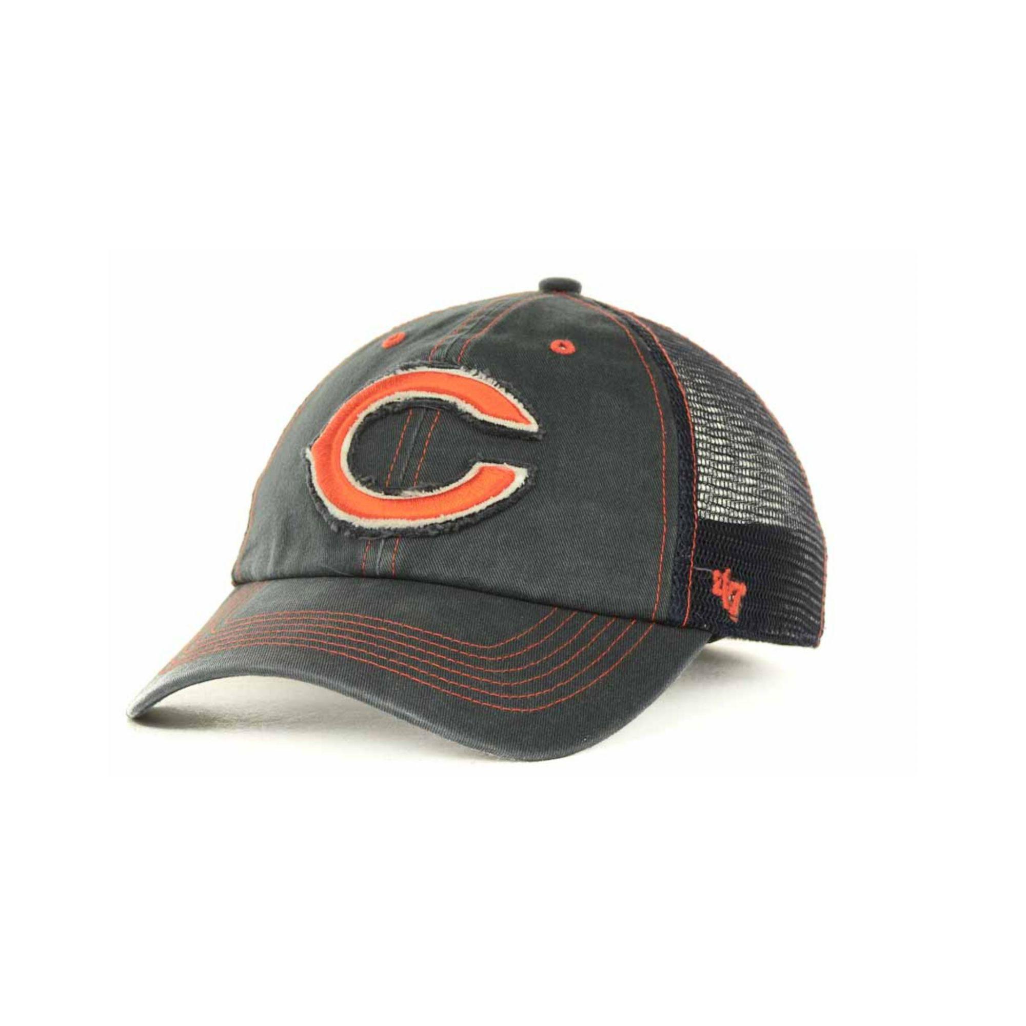 618dee4a8af00 sweden nfl chicago bears clean up adjustable hat one size navy 395c5 a6a45   netherlands lyst 47 brand chicago bears flexbone cap in blue for men c3bd8  7249b