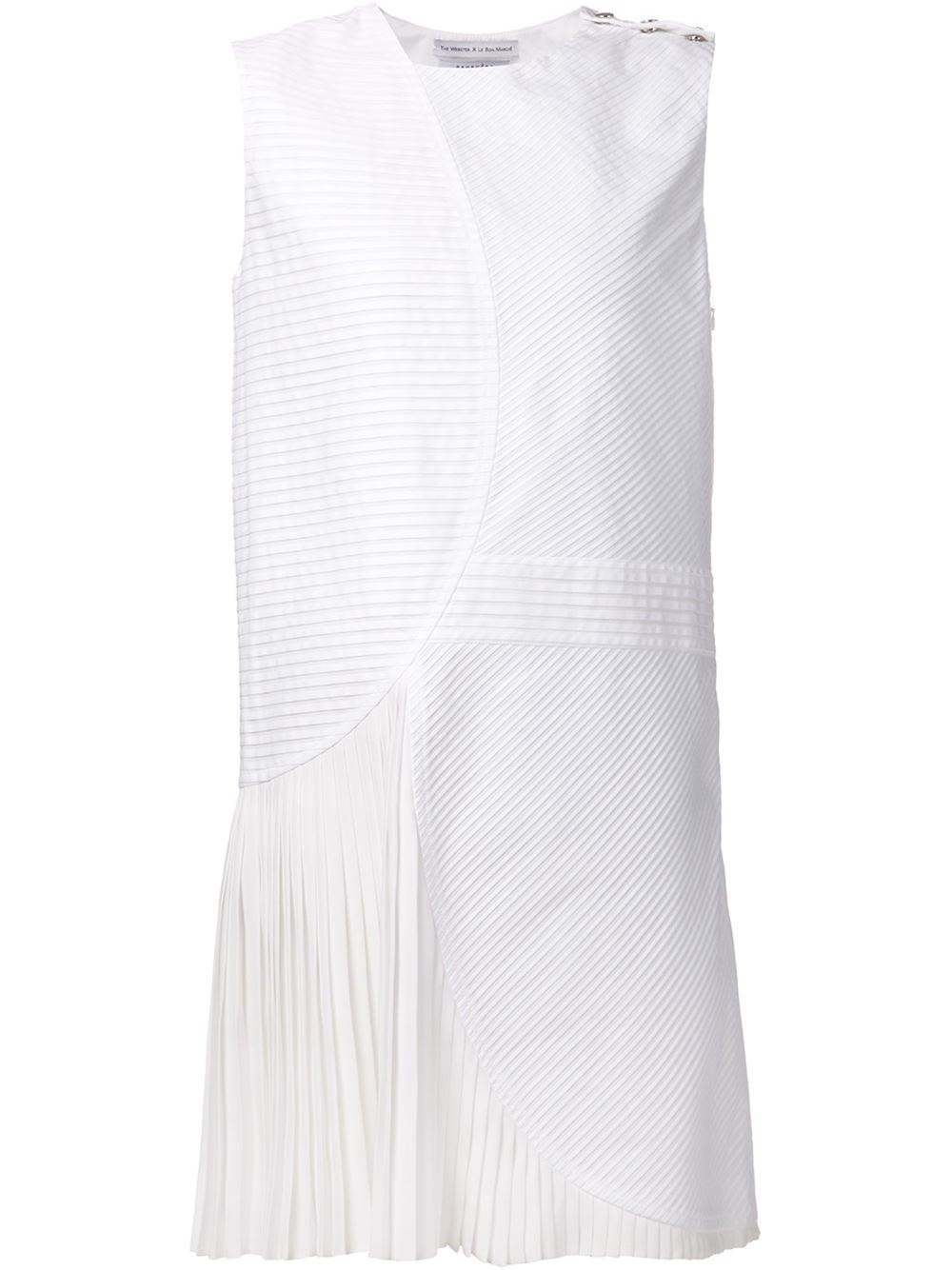 le bon marche x the webster gauch 232 re shift dress in white