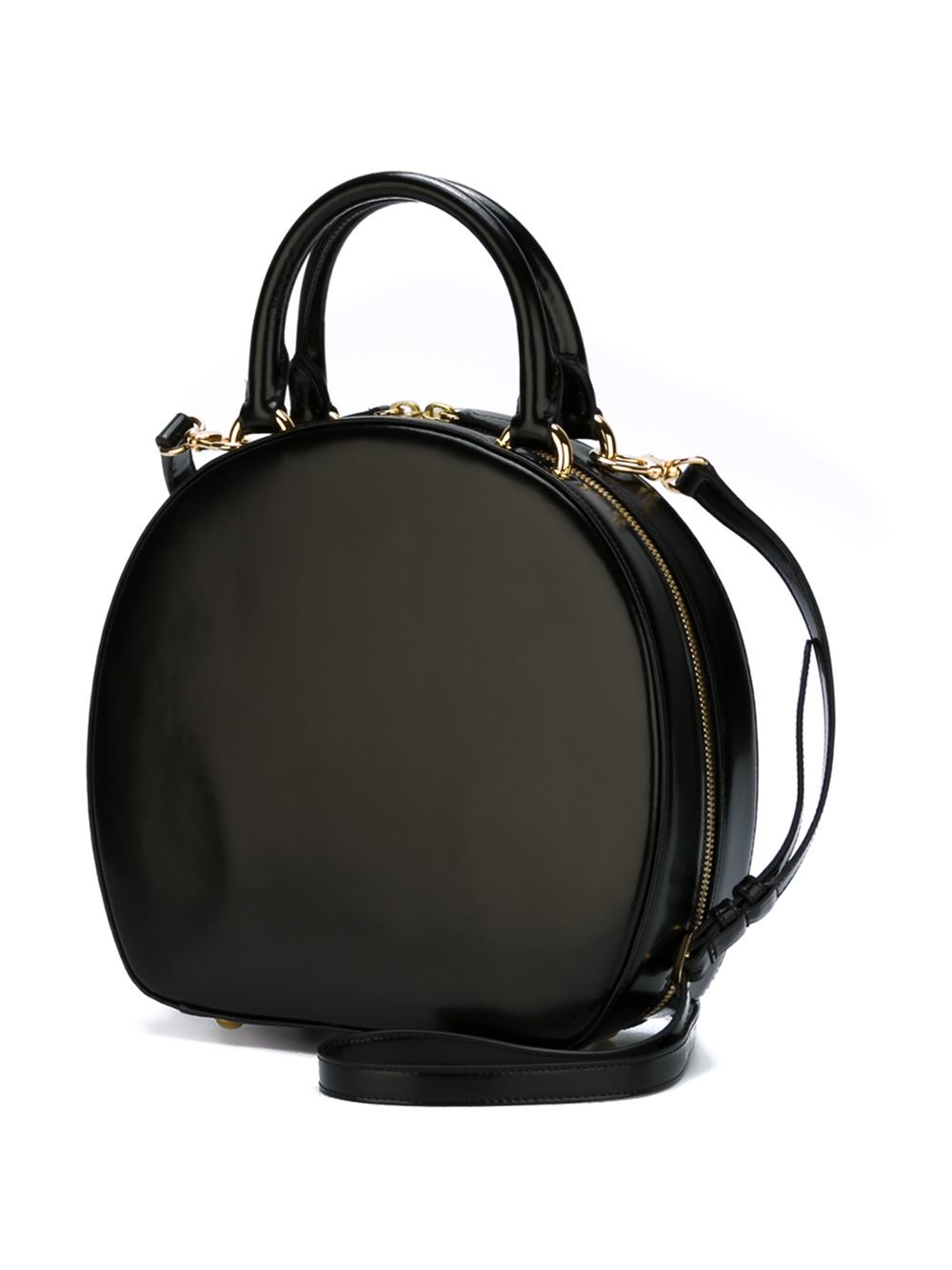 Simone Rocha Round Tote Bag in Black - Lyst