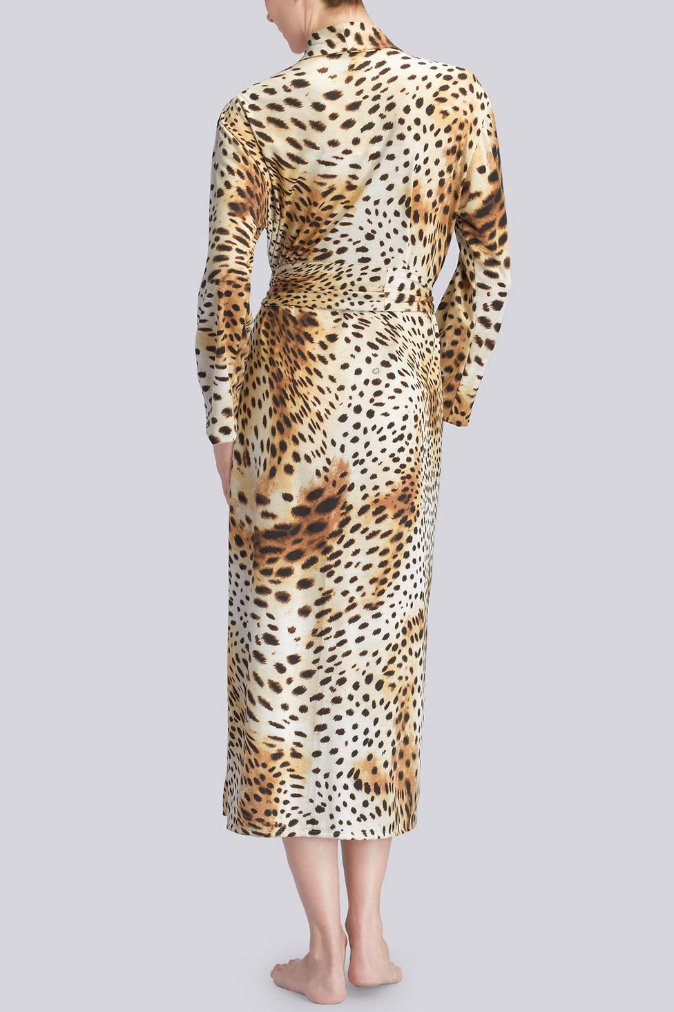 Lyst - Natori Gabon Robe in Natural 55b358de6