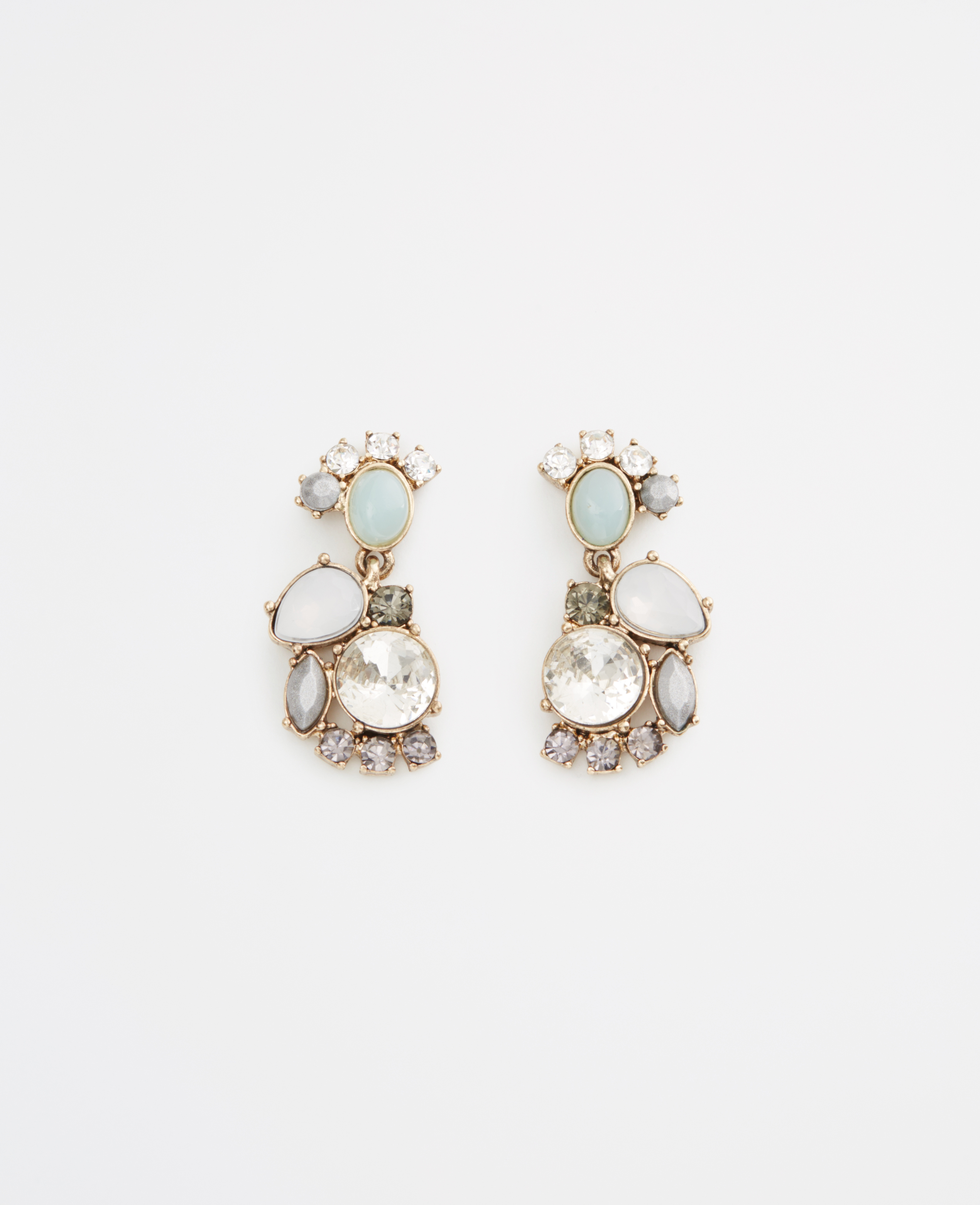 ANN TAYLOR Mixed Stone Drop Earrings nu07o9
